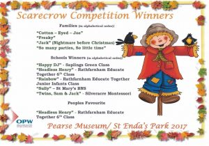 Scarecrow Competition Winners.