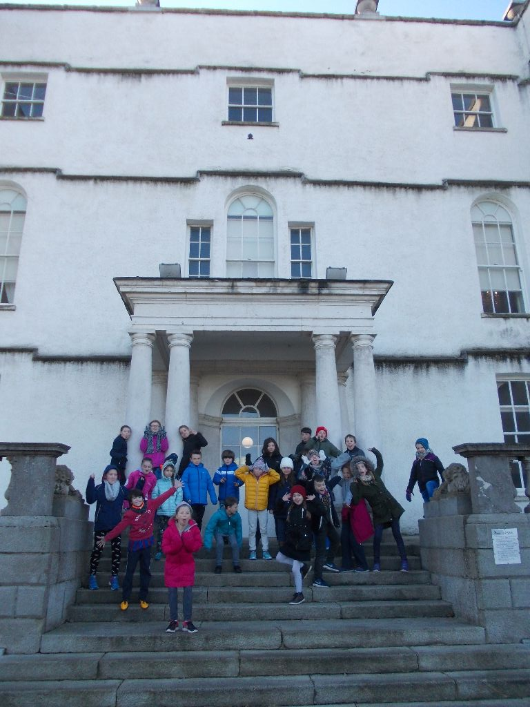 4th Class visit Rathfarnham Castle