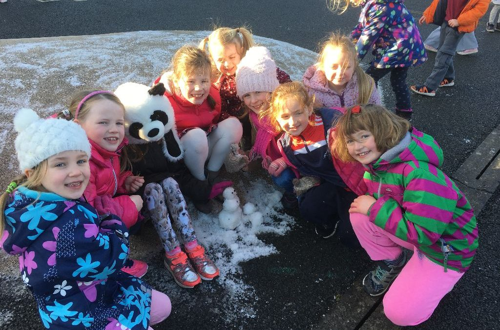February 6th Snow Fun