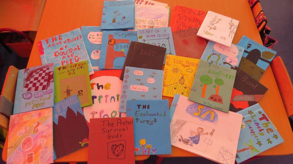 Third Class Write a Book Adventures