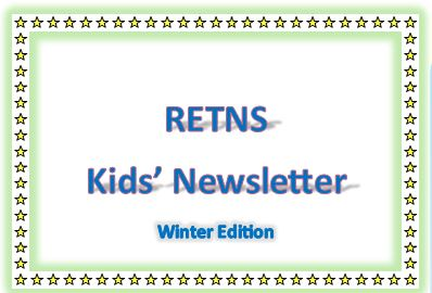 Kid's Winter Newsletter
