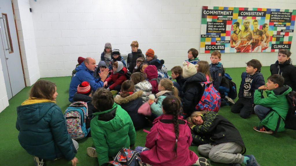 3rd Class visit to Croke Park