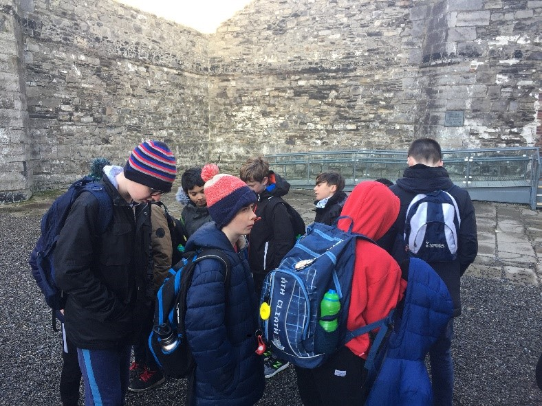 Kilmainham Gaol Visit by 5th Class