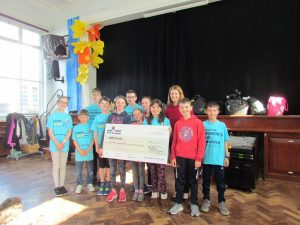 RETNS pupils fundraise for Crumlin Children's Hospital.