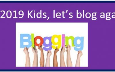 Kids Blog Re-Launch at Friday's Assembly