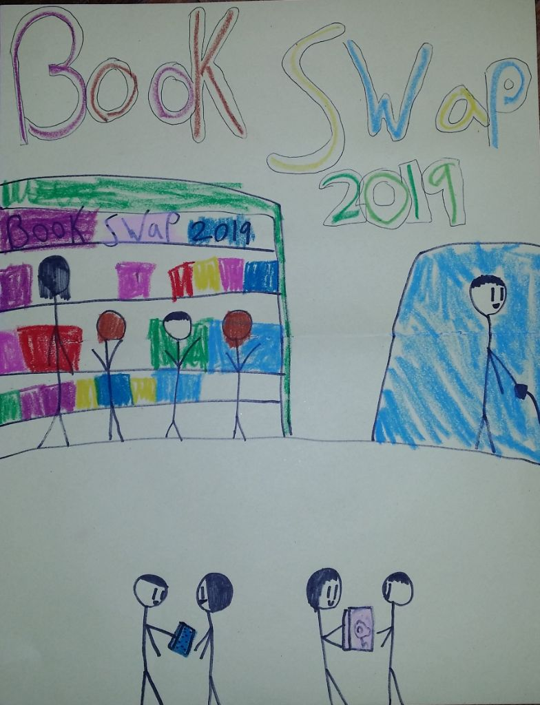 book swap poster by Ruby