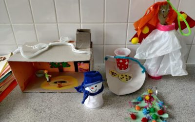Recycled Christmas Decoration Competition