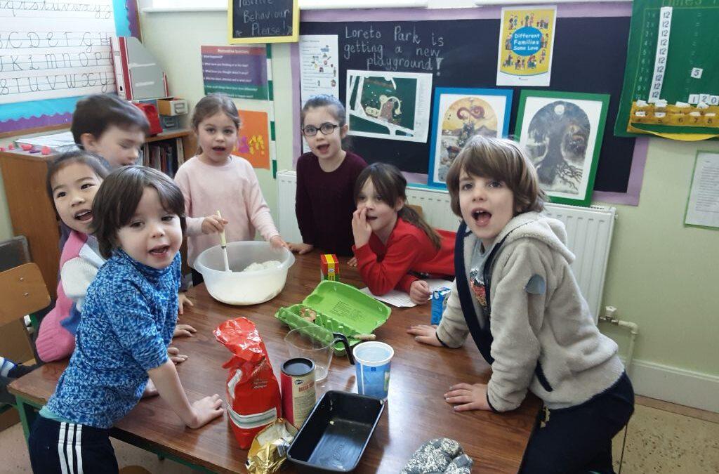 Porridge Bread made by Senior Infants