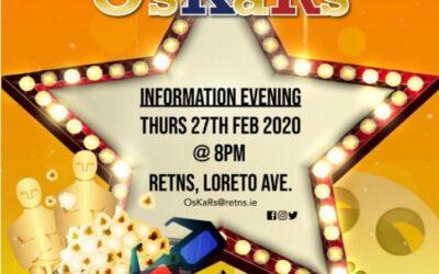 The OsKaRs fundraiser – Information Evening