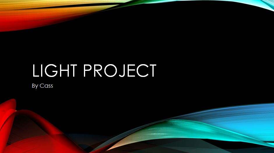 Constellation and Light Projects