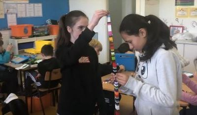 6th Class Lego Mannequin Challenge
