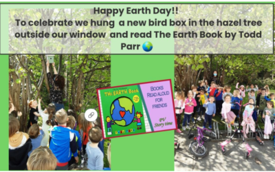 Happy Earth Day from Junior Infants