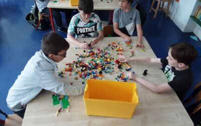 2nd Class turns into Legoland!