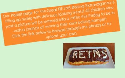 Great RETNS Baking Extravaganza!